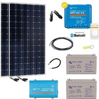 Kit solaire autonome 380w -230v monocristallin