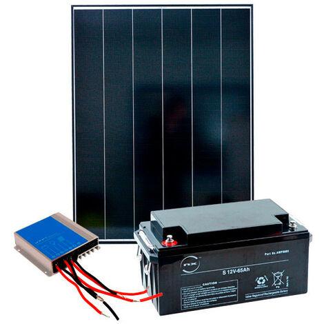 Kit Solaire Autonome M 12V 150Wc (600Wh/jour maxi)