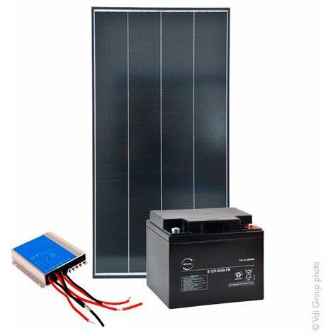 Kit Solaire Autonome S 12V 100Wc (360Wh/jour maxi)