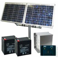 Kit Solaire Autonome XS 24V 10Wc (40Wh/jour maxi)