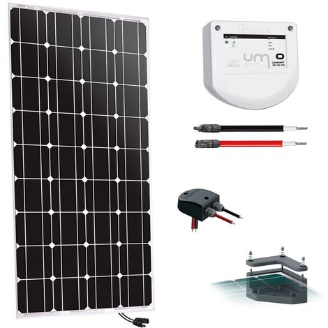 Kit solaire camping-car 100w-12v - uniteck