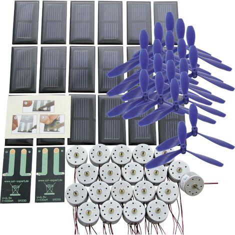 Kit solaire de base avec connexions à souder pour l'éducation A707841