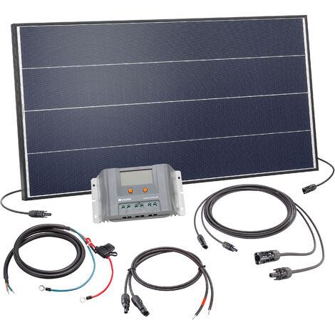 Kit solaire Kit 100W Système solaire 12 volts Système d'île de camping, esotec 120052