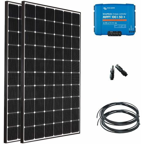 Kit solaire nautisme 2x355w (710w) - 12 ou 24v