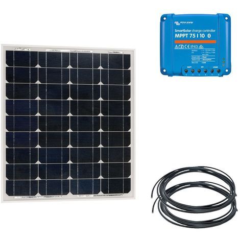 Kit solaire nautisme 50w - 12v