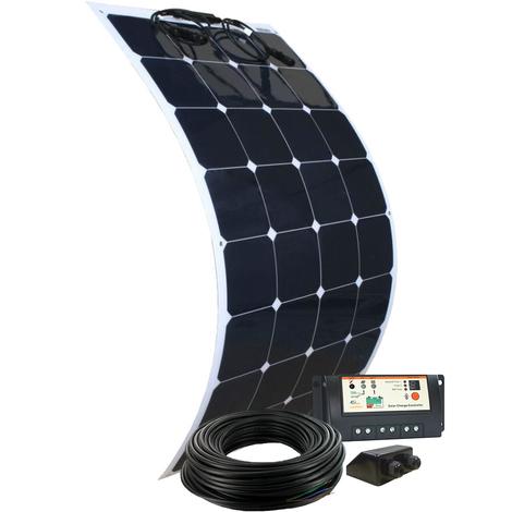 Kit solaire panneau flexible 100W 12V