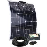 Kit solaire panneau flexible 50W 12V