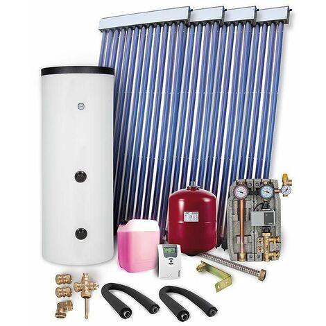 Kit solaire pour ECS 8,20 m² Type WS 4-PR 2,09 avec reservoir solaire 400 L