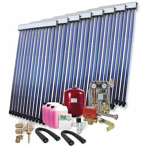 Kit solaire pour ECS et chauffage 16,40 m², sans ballon