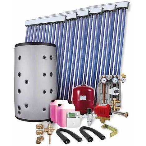 Kit solaire PR 2.09 montage sur toiture 16,40m2 sans reservoir solaire