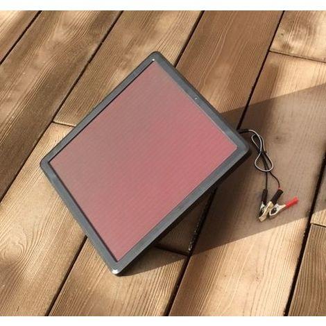 Kit solaire Puissant 7,5 W de maintien des batteries de demarrage