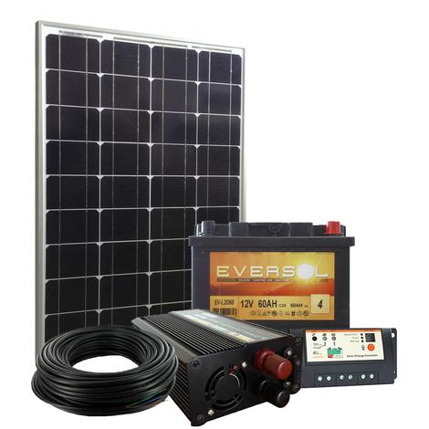 kit solaire site isol 50w 12v 200wh par jour kit si. Black Bedroom Furniture Sets. Home Design Ideas