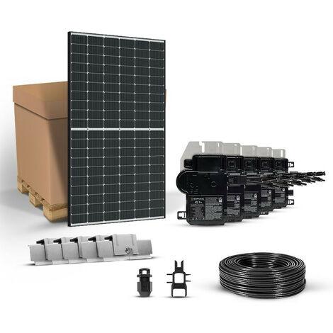 Kit solaire TRIPHASE 3105w 380v autoconsommation - Enphase Energy - JINKO