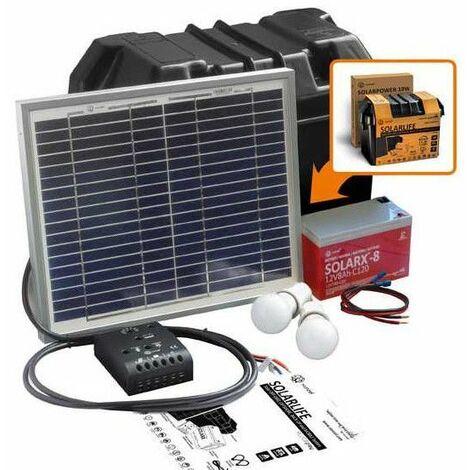 Kit solar 10W-12VCC