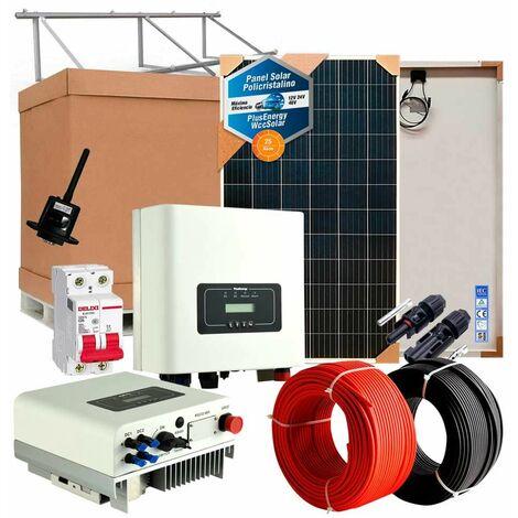 Kit solar 3000wh Autoconsumo Inyección a RED