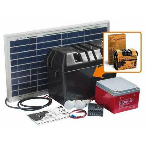 Kit solar 30W-12VCC