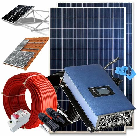 """main image of """"Kit solar 500wh Autoconsumo Inyección a RED"""""""