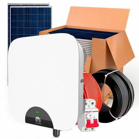 Kit solar HuaWei 3000wh Autoconsumo Inyección a RED