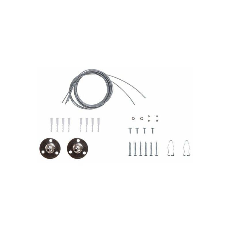 Kit Staffe Fissaggio a Sospensione Per Plafoniere Impermeabili Tri Proof SKU-8119 - V-TAC