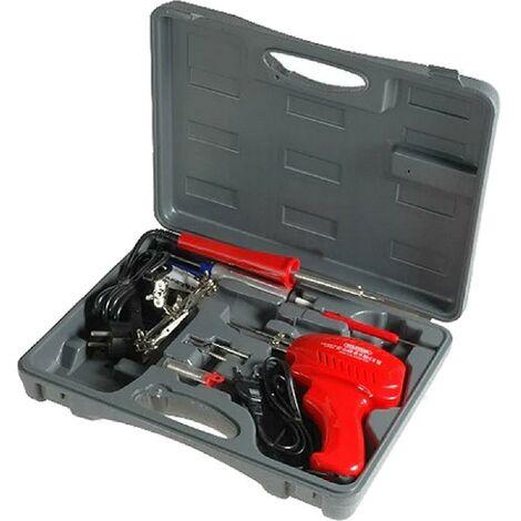 Kit soudure fer a souder et pistolet de soudure