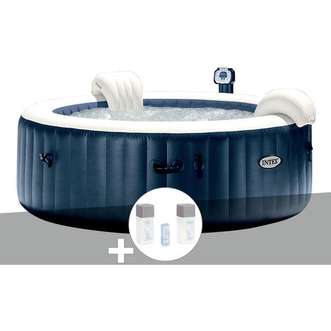 Intex Spa Gonflable Pure Spa Jets Et Bulles 6 Places 12 Cartouches