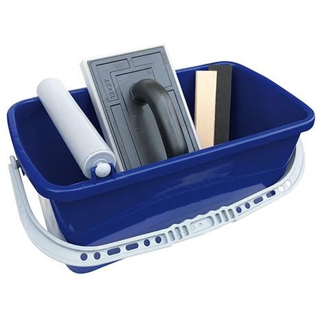 Kit spécial joints de carrelage avec bac 12 Litres + 2 accessoires - Diamwood - -
