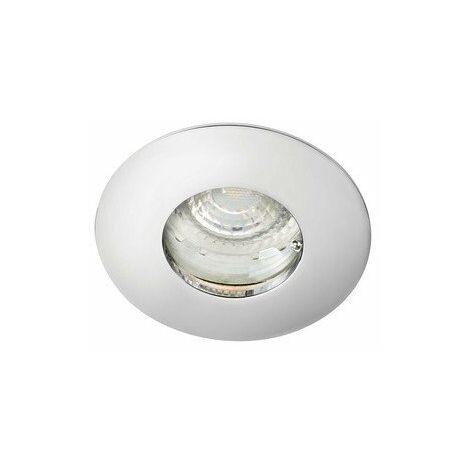 Kit Spot encastré LED Hidro 6E - 6W - 3000K - 400lm - Rond - Non dimmable - Avec ampoule - Chrome