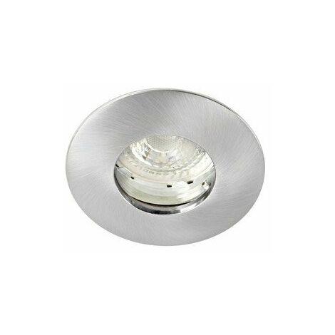 Kit Spot encastré LED Hidro 6E - 6W - 3000K - 400lm - Rond - Non dimmable - Avec ampoule - Nickel