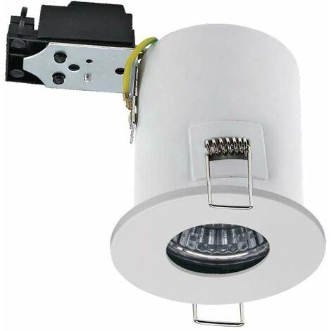 Kit Spot LED RT2012/BBC Finition Blanc GU10 5W équivalent 40W - Blanc du Jour 6000K