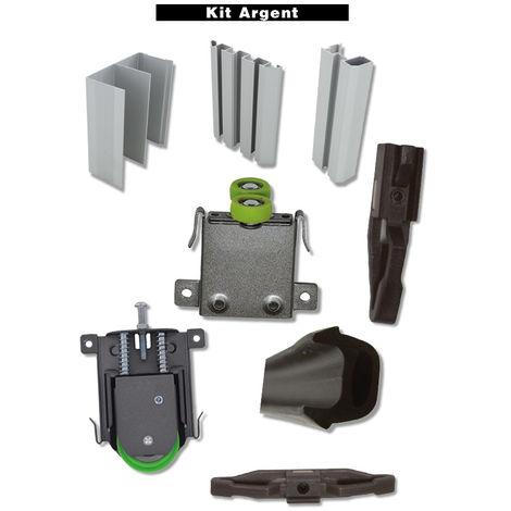 Kit STD Small DUVAL BILCOCQ - hauteur 2500 mm - longueur 2000 mm - argent - 73-0002-K122