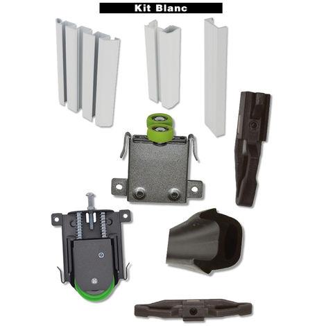 Kit STD Small DUVAL BILCOCQ - hauteur 2500 mm - longueur 2000 mm - blanc - 73-0016-K122