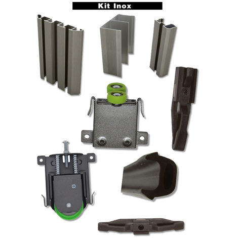 Kit STD Small DUVAL BILCOCQ - hauteur 2500 mm - longueur 2000 mm - inox brossé - 73-0038-K122