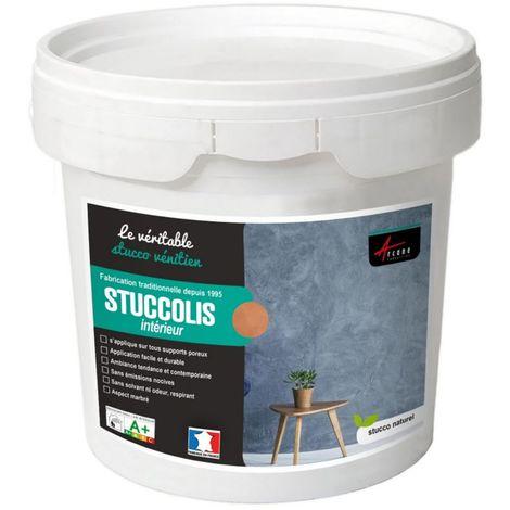 Kit stuc venitien enduit stucco spatulable décoratif - KIT STUCCOLIS