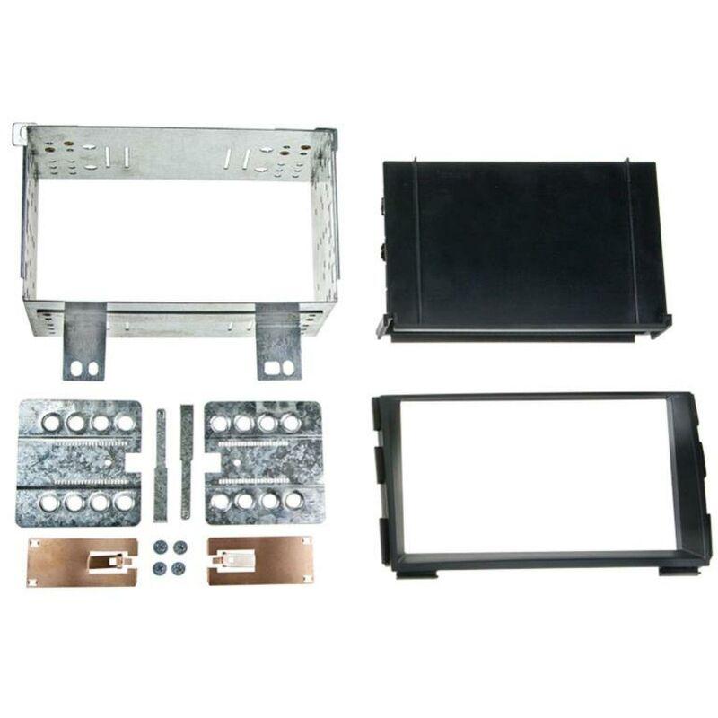 Kit Support 2Din compatible avec Kia Ceed 09-12 Pro Ceed 11-13 avec vide-poche - Noir