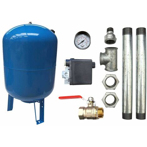 KIT surpresseur vertical 200L - 1""