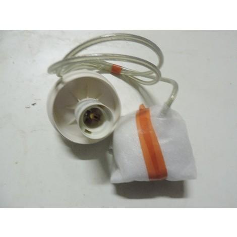 Kit suspension blanc pour diffuseur cube ou globe avec douille E27 230V 100W max (lampe non incl) IP20 KINLEY TRAJECTOIRE 002614