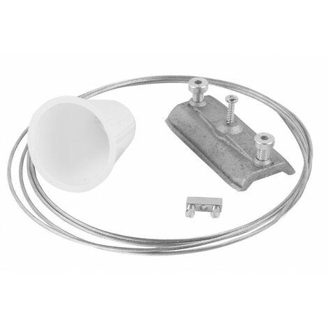 Kit suspension l:200cm blanc (TR17631)