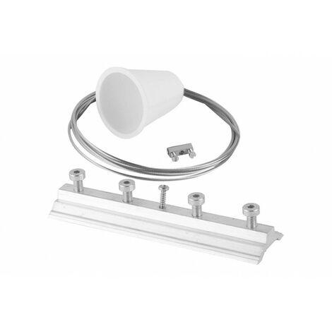 Kit suspension l:200cm blanc (TR17731)