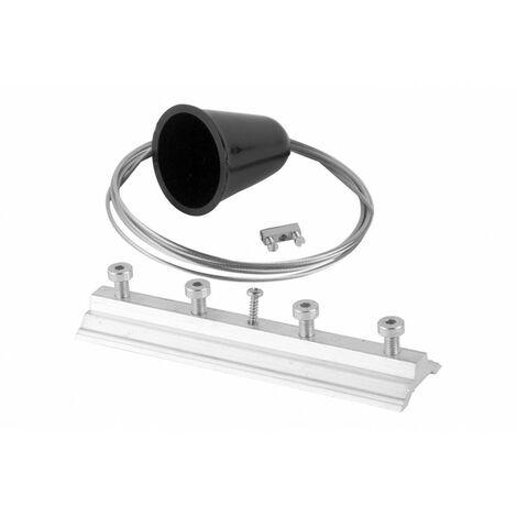 Kit suspension l:200cm noir (TR17730)