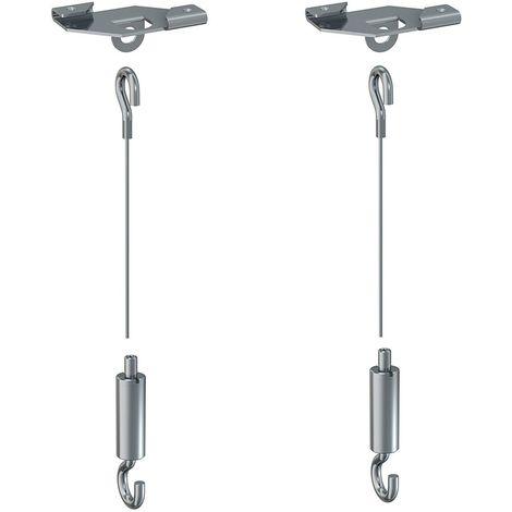 """main image of """"Kit suspension panneau pour faux plafond"""""""