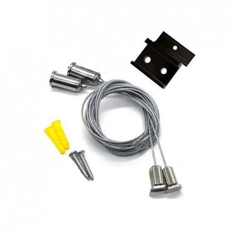 Kit Suspension pour Rail Magnétique en Saillie - SILAMP