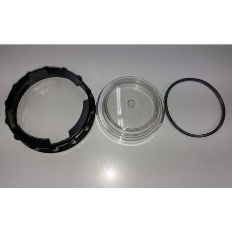 Kit tapa + Arandela + Junta tórica compatible con los cuerpos de las bombas Iris - Silen 1 - Nox 33/8m - 50/12m - 150/22m
