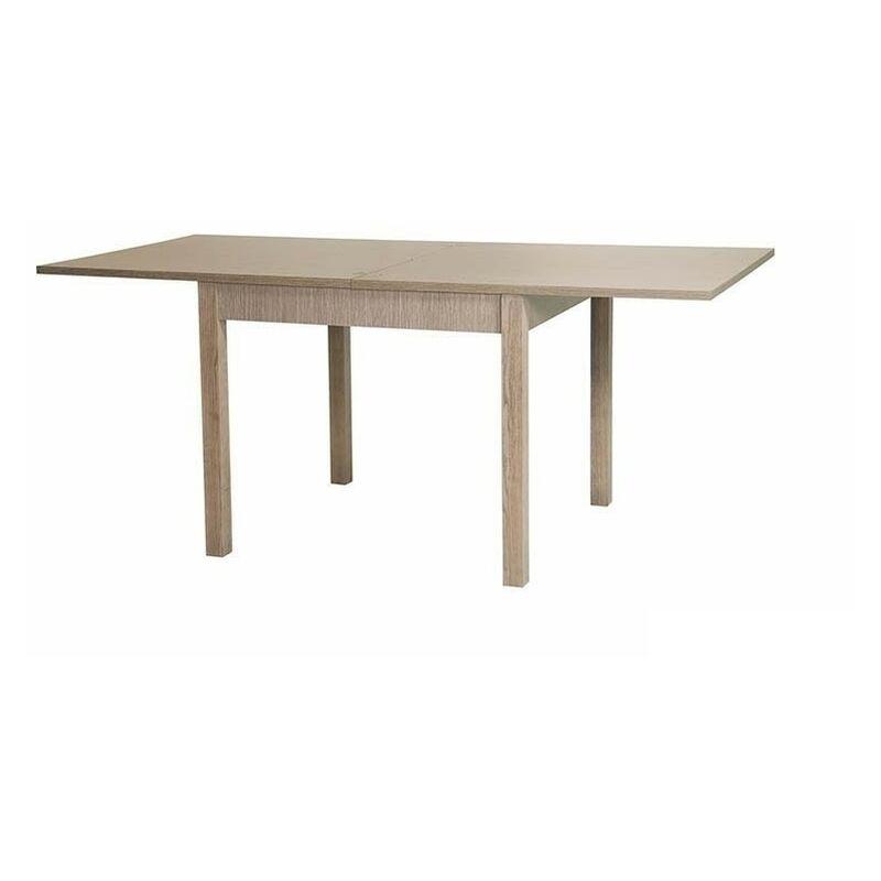 Kit tavolo allungabile 90x90/180x79h gambe mm.50x50 finitura larice ...