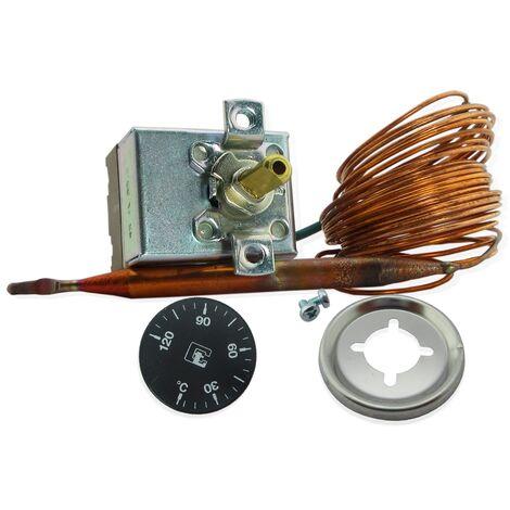 Kit termostatos regulación 0-120ºC -Disponible en varias versiones