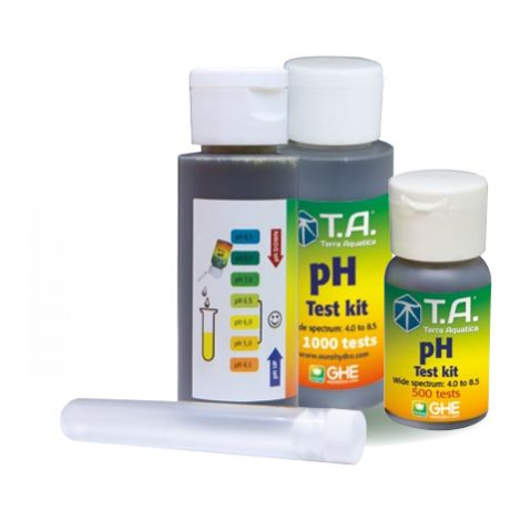 KIT TEST DE PH - GENERAL HYDOROPONIC GHE 30 ML.