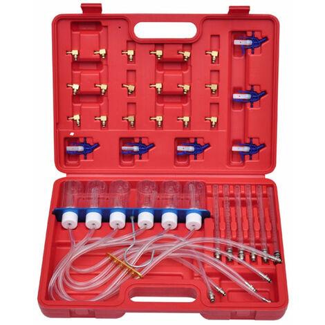 Kit test débit pour injecteur à rampe commune et adaptateurs