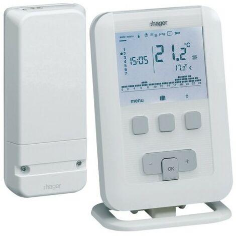 Kit thermostat d'ambiance programmable EK560 + récepteur -
