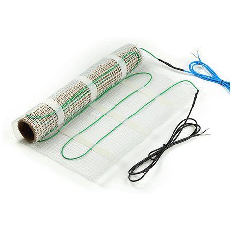 Kit Thermostat + Plancher chauffant electrique 1 à 12m2 pour sol, carrelage ou chape Valstorm 150 W / m2 230 V