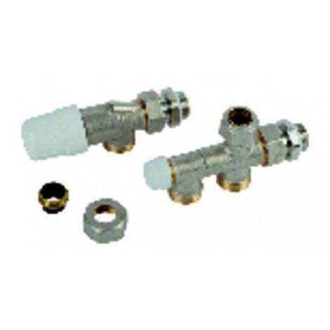 Kit thermostatisable équerre inversé 15x21 monotube - RBM FRANCE : 2250450
