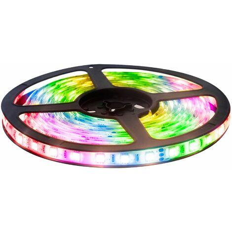 Kit Tira LED 12v 3 metros 28w IP65 RGB